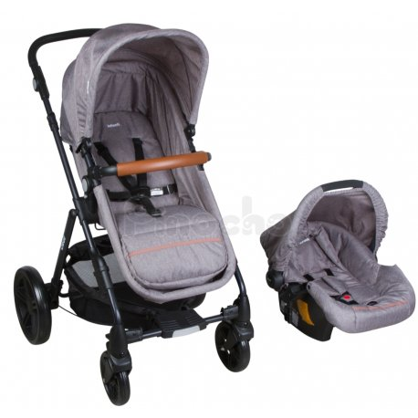 Coche Travel System con Huevito Cloud